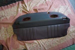 車 内装 革製品 ポルシェ 革製品オール染直しリペア